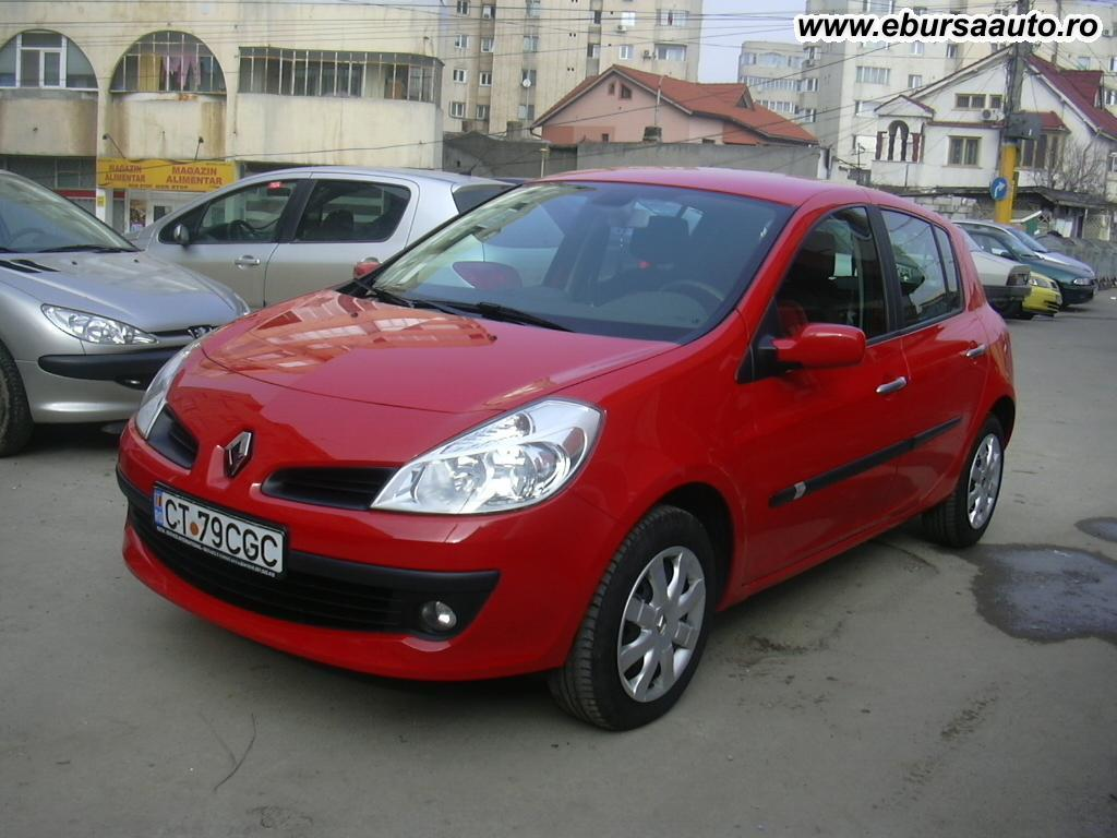 renault clio 3 39 2007 de vanzare autoturism second hand in constanta romania bursa auto. Black Bedroom Furniture Sets. Home Design Ideas